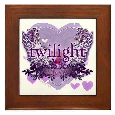 Twilight Forever by Twidaddy.com Framed Tile