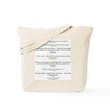 bonsaiQUOTES Tote Bag