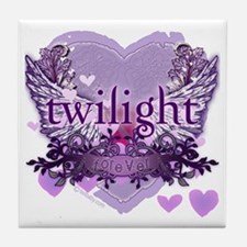Twilight Forever by Twidaddy.com Tile Coaster