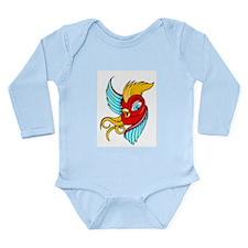 Swallow Long Sleeve Infant Bodysuit
