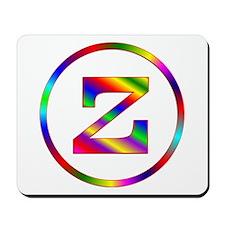 Letter Z Mousepad
