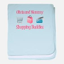 Olivia - Shopping Buddies baby blanket