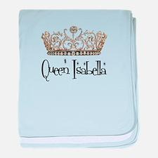 Queen Isabella baby blanket
