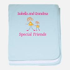 Isabella & Grandma - Friends baby blanket