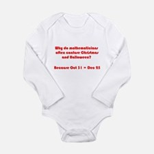 Octal or Decimal? #2 Long Sleeve Infant Bodysuit
