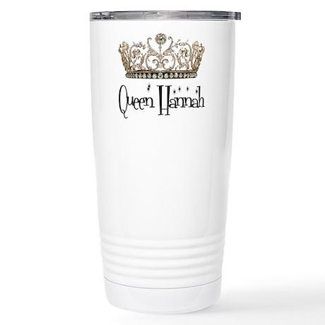 Queen Hannah Stainless Steel Travel Mug