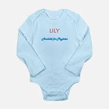 Lily - Available For Playdate Long Sleeve Infant B
