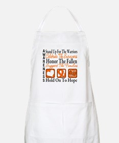 Multiple Sclerosis Tribute Apron