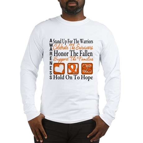 Multiple Sclerosis Tribute Long Sleeve T-Shirt