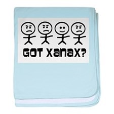 Got Xanax baby blanket