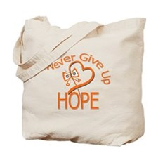 MultipleSclerosis NeverGiveUp Tote Bag