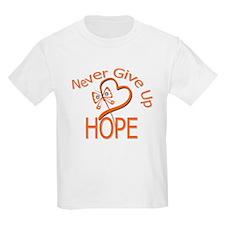 MultipleSclerosis NeverGiveUp T-Shirt