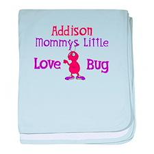 Addison - Mommy's Love Bug baby blanket