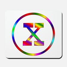 Letter X Mousepad