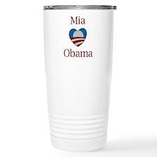 Mia Loves Obama Travel Mug