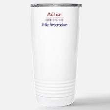 Mia Firecracker Stainless Steel Travel Mug