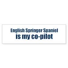 English Springer Spaniel is m Bumper Bumper Bumper Sticker