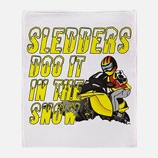 Sledders Doo Throw Blanket