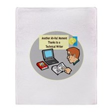 Software Manuals Throw Blanket