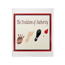 Authority Throw Blanket