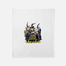 Macbeth1 Throw Blanket