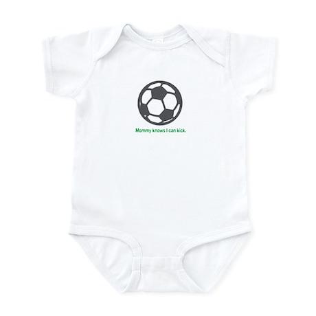 Soccer Kick - Infant Bodysuit (Green)