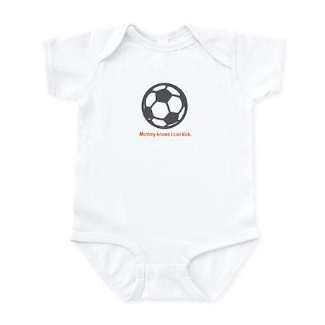 Soccer Kick - Infant Bodysuit (Orange)