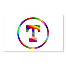 Letter T Decal
