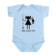 Reel Girls Fish Infant Bodysuit