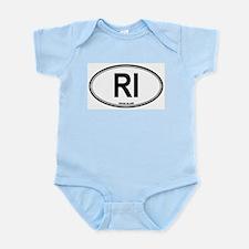 Rhode Island (RI) euro Infant Creeper