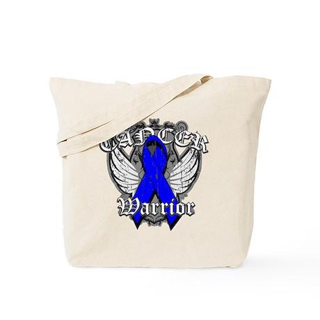 Colon Cancer Warrior Tote Bag
