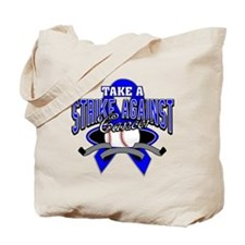 Take a Strike Colon Cancer Tote Bag