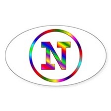 Letter N Decal