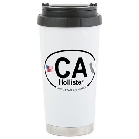 Hollister Stainless Steel Travel Mug