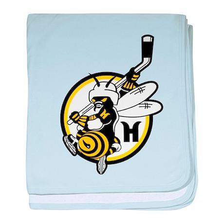 Hornets baby blanket