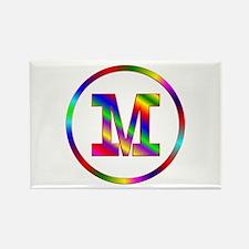 Letter M Rectangle Magnet