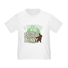 Believe Easter Bunny T