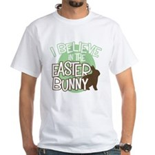 Believe Easter Bunny Shirt