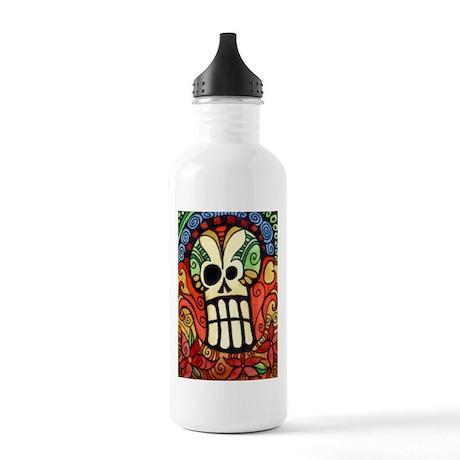 Day of the Dead Sugar Skull 1 Stainless Water Bott
