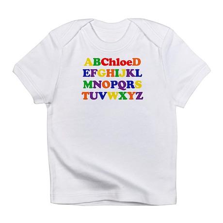 Chloe - Alphabet Infant T-Shirt