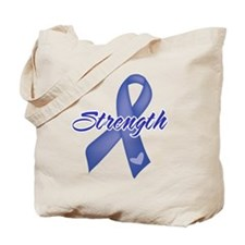 Strength - Colon Cancer Tote Bag