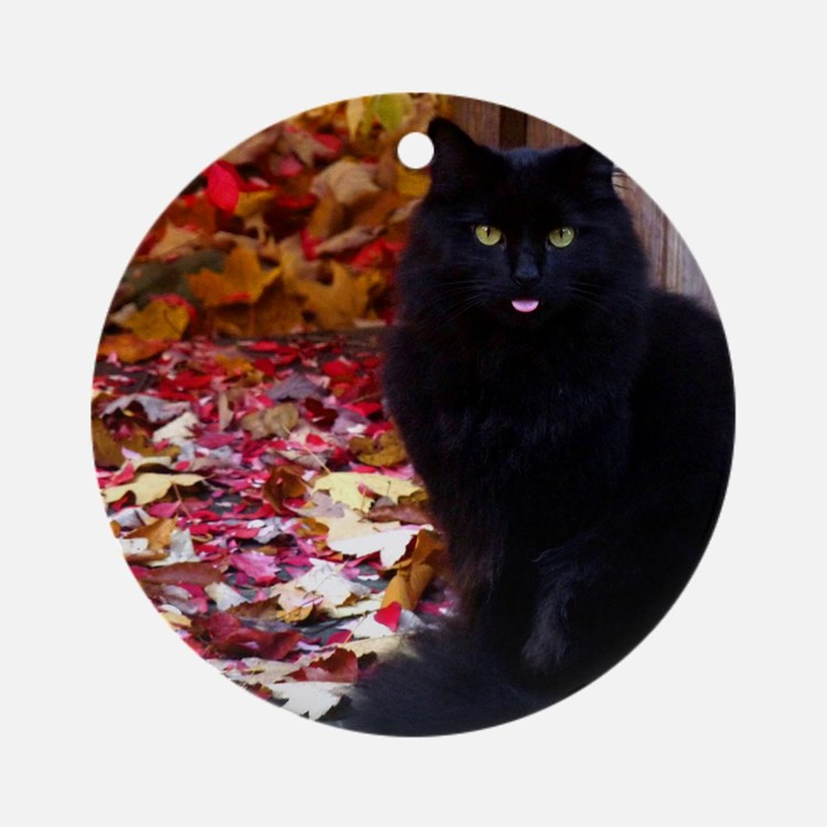 Kitty with an Attitude Ornament (Round)