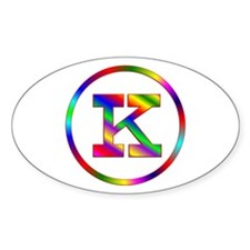 Letter K Decal