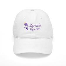 Karaoke Queen Baseball Cap