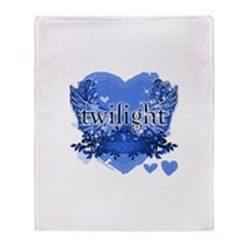 Twilight Midnight Blue Throw Blanket