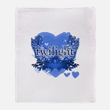 Twilight Midnight Blue Throw Blanket