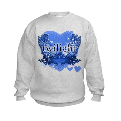 Twilight Midnight Blue Kids Sweatshirt