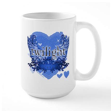 Twilight Midnight Blue Large Mug
