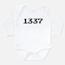 1337 Long Sleeve Infant Bodysuit