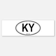 Kentucky (KY) euro Bumper Bumper Bumper Sticker